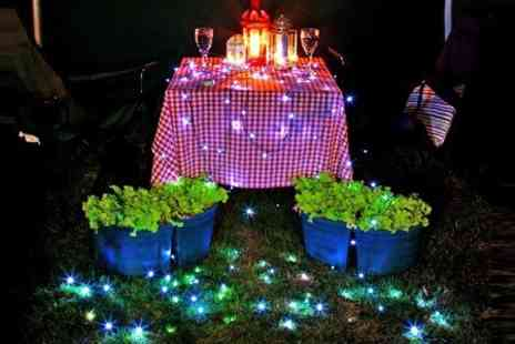 The Sharper Edge - LED Solar Fairy Lights String of 60 - Save 47%