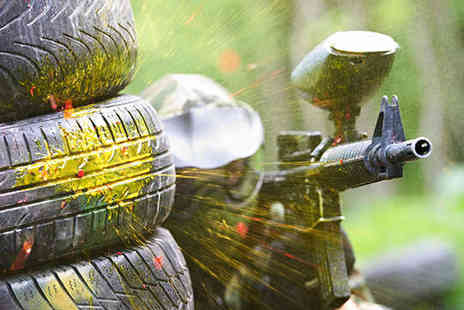 The Dangerzone - Paintballing Day for Ten - Save 94%