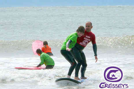 Cresseys Surf - Two Hour Surfing Lesson for One - Save 53%