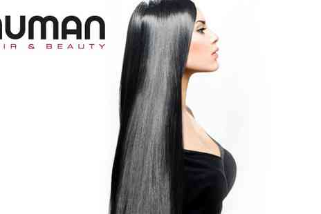 Human Hair & Beauty - Brazilian Blow Dry and Cut - Save 73%