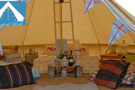 British Bells - Luxury Glamping Stay near Colchester - Save 55%