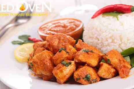 Red Oven - 2 Course Group Indian Meal in Birmingham - Save 67%