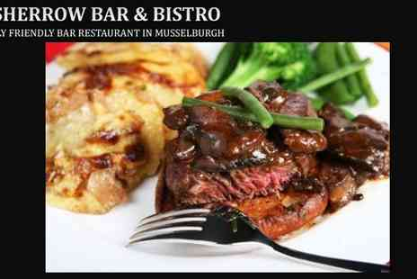 Fisherrow Bar - Meal and Wine for Two at Fisherrows Bar and Bistro - Save 54%