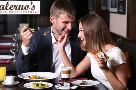 Salerno's Italian - Italian Meal For Two in London - Save 58%