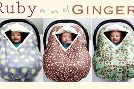 Ruby and Ginger - Gorgeous Cosy Car Seat Covers - Save 50%