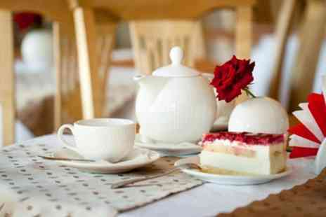 The Wooden Spoon Cafe - Traditional Afternoon Tea For Two - Save 40%