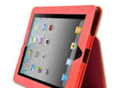 iPad case - A faux leather iPad case in a choice of 3 colours - Save 64%