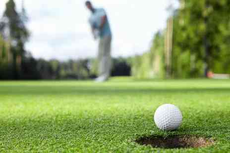Thornbury Golf Centre - Two rounds of golf for two with a complimentary burger each - Save 71%