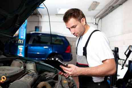 Executive MOT & Service - 52 point service with an oil and filter change for one car - Save 84%