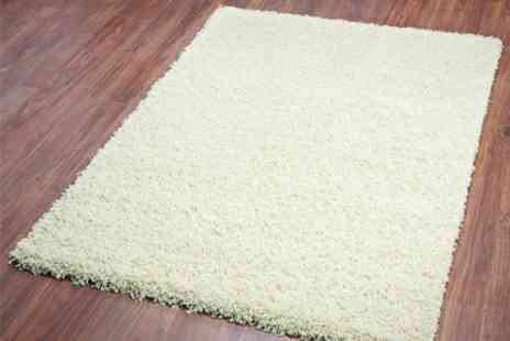 Tranquility Beds - Soft Shaggy Pile Rug Including Delivery  - Save 52%