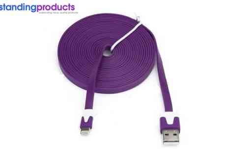 Mind Motivations - Anti Tangle iPhone Cable - Save 54%