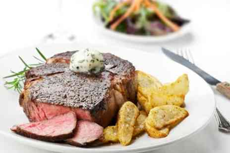 Il Bacio - Steak and Wine For Two - Save 59%