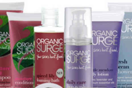 Organic Surge - £19.99 instead of £40.38 for an Ultimate Indulgence Bundle of toiletries - Save 50%