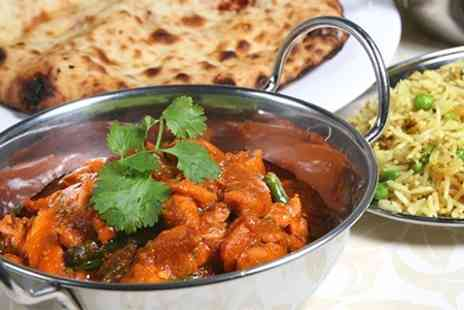 The Pukka Indian - Two Courses With Sides For Two - Save 59%