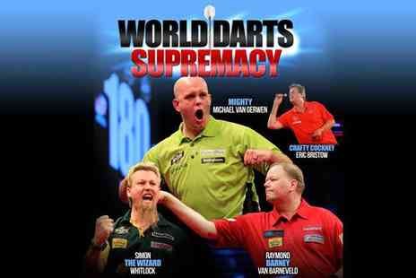 Richard Blakey Leisure - Two balcony tickets to World Darts Supremacy Night - Save 56%