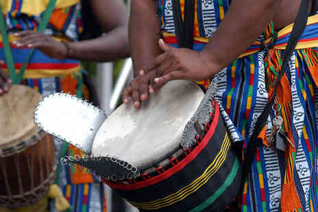 London African Drumming - Two Hour African Drumming Class for One - Save 55%