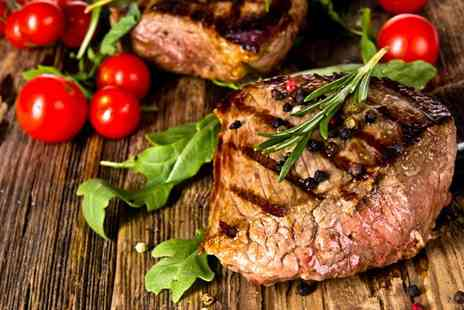 Big Blue Sports Bar & Grill - Sumptuous steak meal for two - Save 47%