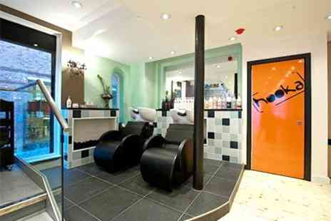 Hooka Hairdressers - Cut, Finish, Conditioning and Full Colour - Save 63%
