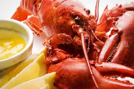 Marisko Seafood Restaurant - Seafood Platter With Whole Lobster and Dessert For Two - Save 41%