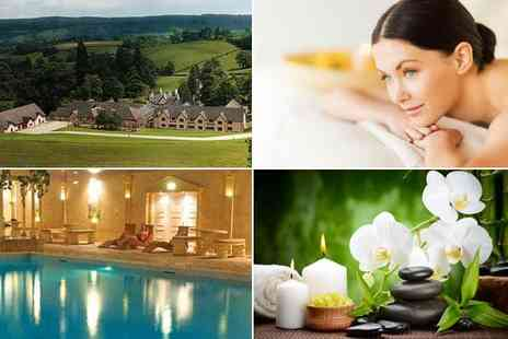 Cwrt Bleddyn Hotel - Luxury one day spa pass for two - Save 50%