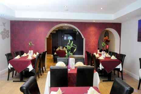 Masala Derby - Two Course Indian Meal With Sides and Drinks - Save 62%