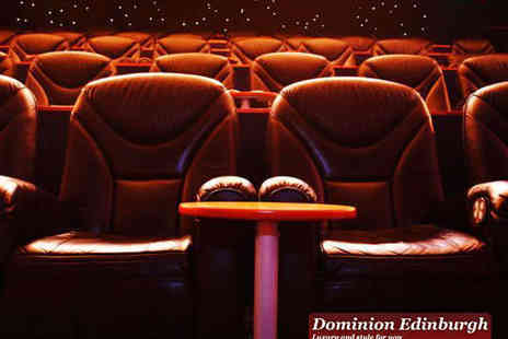 Dominion Cinema - Two Gold Class Cinema Tickets to Any Film - Save 62%