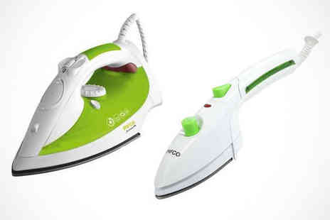 Electric Circle - Pifco Steam Iron or Pifco 3 in 1 Steam Iron - Save 50%