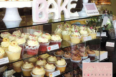 Lottie McPhees Cupcakes - Two Cupcakes Each and a Coffee or Tea Each for Two People - Save 55%