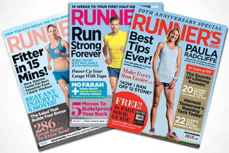 Runners World - 12 Issue Subscription Magazine - Save 56%