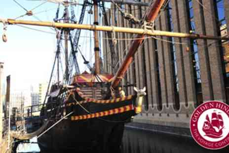 The Golden Hinde - Tickets for Action Tours of The Famous Tudor Warship - Save 40%