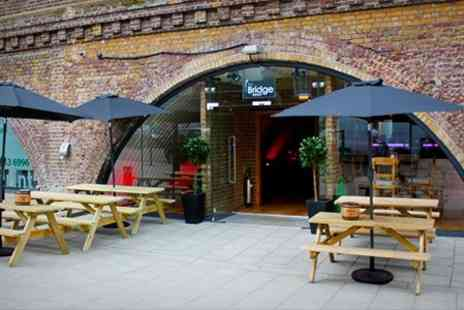 The Bridge Wine Bar - Bottle of Prosecco and Nibbles For Two - Save 57%