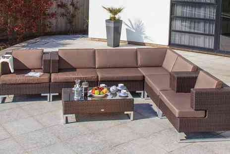 Cozy Bay - Luxury Six Seater Garden Furniture Set - Save 39%
