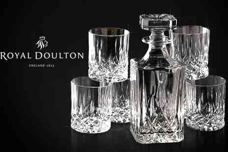 UHS - Royal Doulton Mode Seasons decanter set  - Save 63%