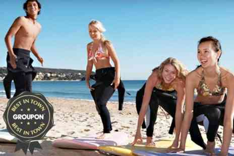 Momentum Surf Schoo - Three Hour Lesson For One - Save 54%