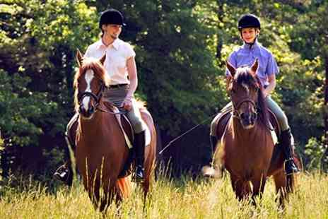 Ruislip Riding School - Hacking For Two - Save 57%