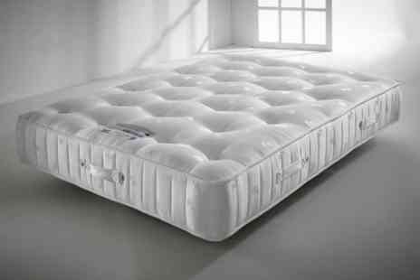 Happy Beds - Handmade 3000 Crystal Pocket Sprung Mattress - Save 73%