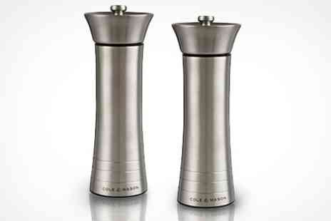 Ebeez.co.uk - Set of Tower Salt and Pepper Mills - Save 68%