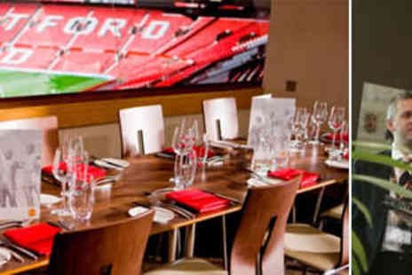 Circuit Hospitality - Choice of VIP Hospitality Package for Manchester United v Bayer Leverkusen at Old Trafford - Save 45%