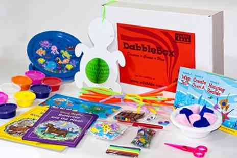 vDabble - Exciting, fun and educational activities for children aged 3 to 7 delivered to your home every month - Save 25%