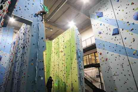 Harrogate Climbing Centre -  Indoor Beginners Course - Save 64%