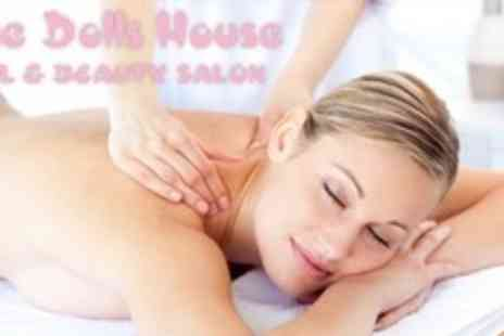 The Dolls House - Facial With Back Neck and Shoulder Massage - Save 70%