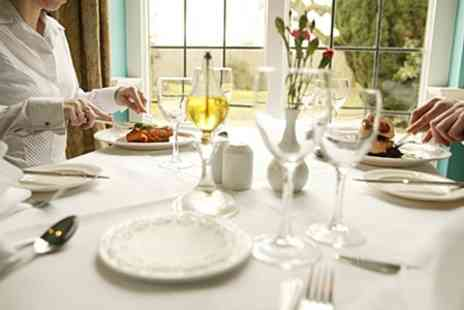 Bartley Lodge Hotel - Two Course AA Rosette Lunch For Two  - Save 34%