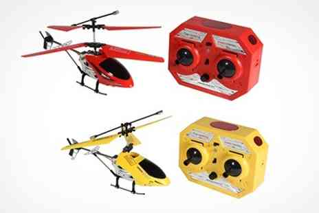 Deluxe Home Brands - Two Channel RC Helicopter  - Save 68%