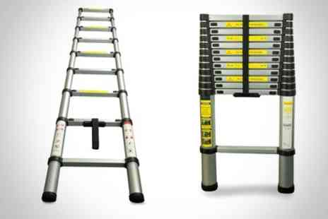 James Russell - Telescopic or Pro Articulated Ladder - Save 63%