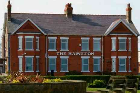 The Hamilton Hotel - In Great Yarmouth One Nights For Two With Breakfast and Dinner - Save 36%