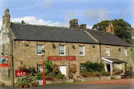 Bay Horse Inn - In Northumberland One Nights For Two With Breakfast and Wine - Save 34%