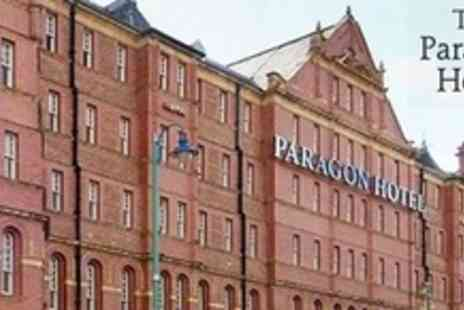 The Paragon Hotel - Overnight Stay For Two With Three Course Meal and Breakfast - Save 62%