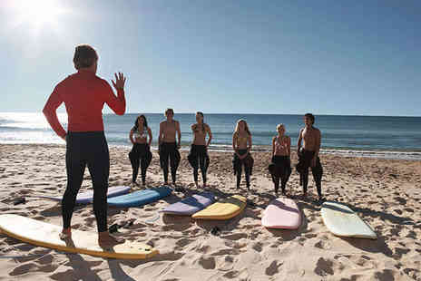 BeachBreak Surf School - Surfing Lesson for One - Save 52%