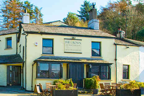 The Crown at High Newton - Two Night Stay for Two People with Daily Breakfast Two Course Dinner - Save 50%