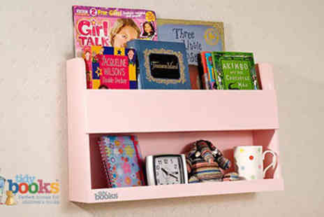 Tidy Books - Gorgeous Bunk Bed Buddy Unique Space Saving Book Storage for Kids - Save 40%